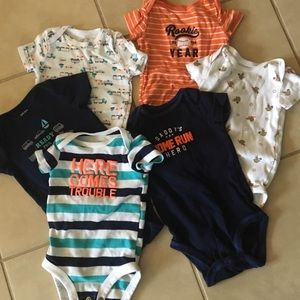 Carters boys Onesie Sets
